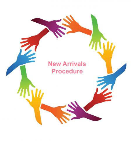 New to English Arrivals Procedure