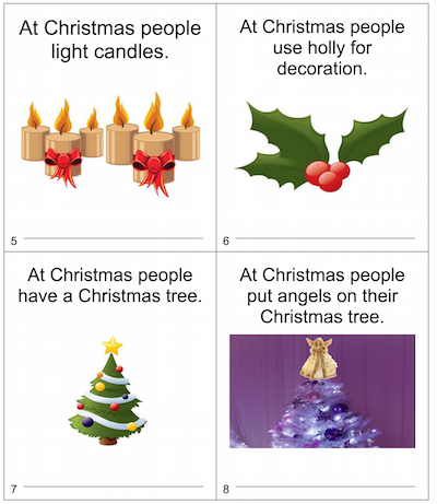 Looking to teach Christmas vocabulary to your new arrivals?