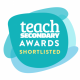 Teach Secondary award logo